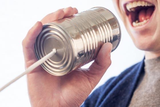 Comunicazione scelta tecnologia realizzazione del sito web