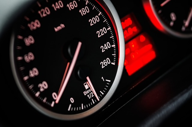 Tachimetro velocità sito web