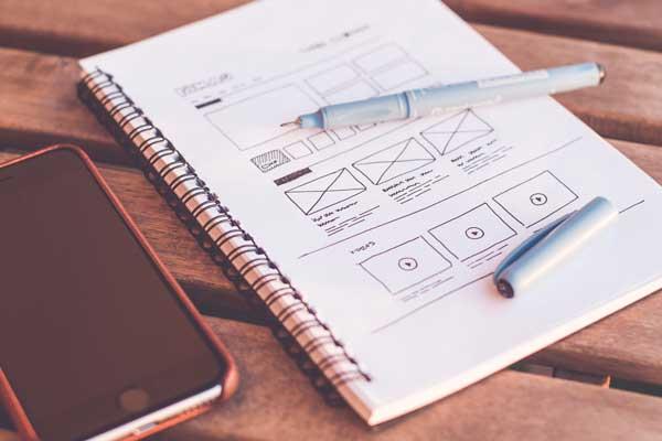 Web design per sito web